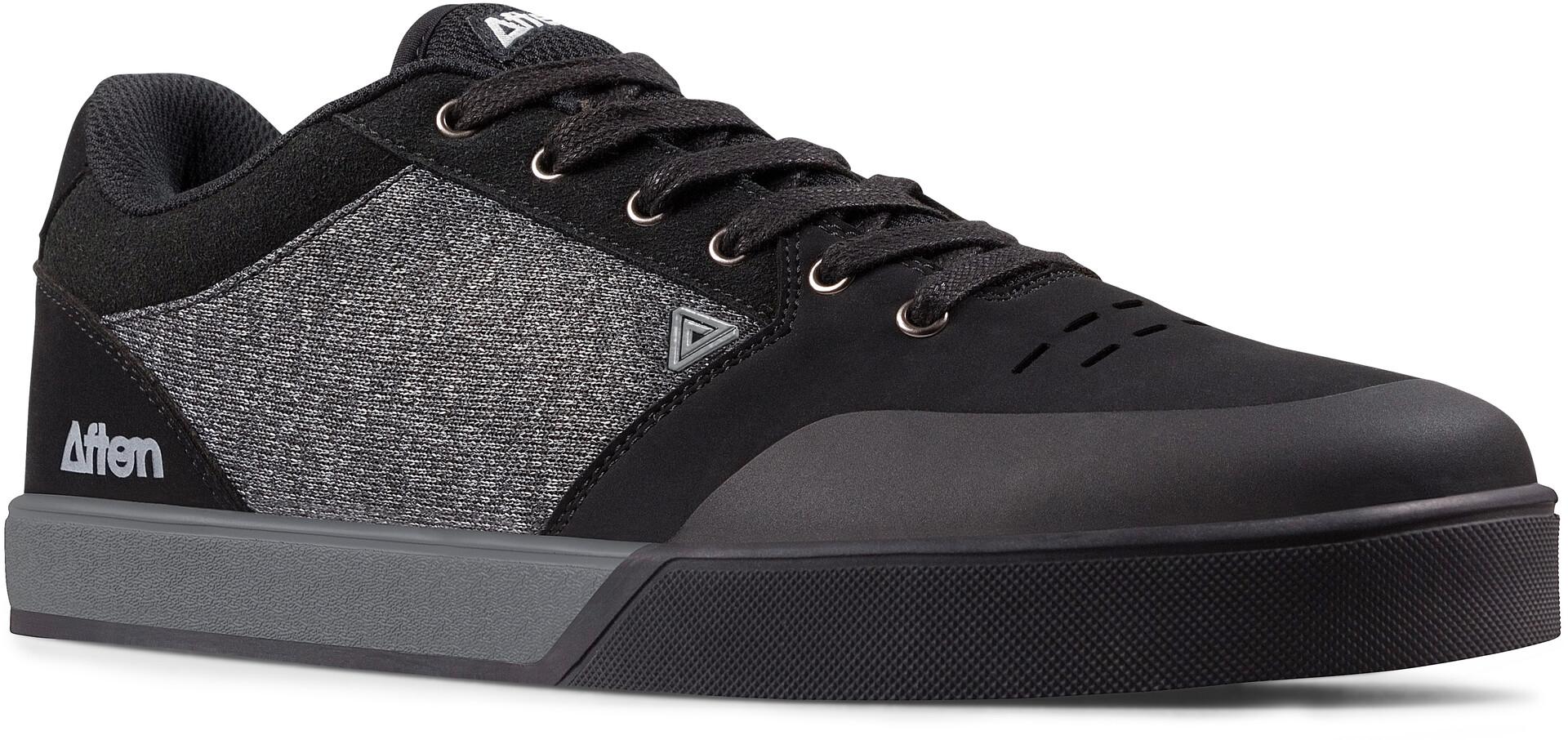 Afton Shoes Keegan Flatpedal Shoes Men blackheathered